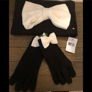 Kate Spade Headband & Gloves